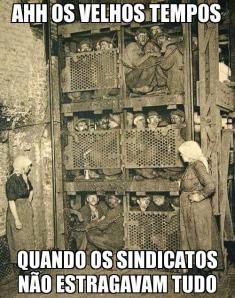 Sindicatos e escravos